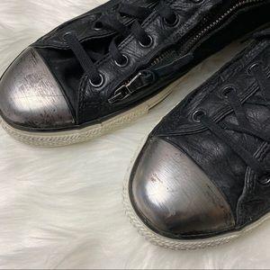 Converse Shoes - Converse X John Varvatos Brushed Steel Toe Cap ZIP